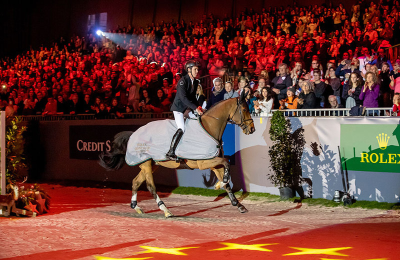 Sanctos en Scott Brash (© Dirk Caremans)