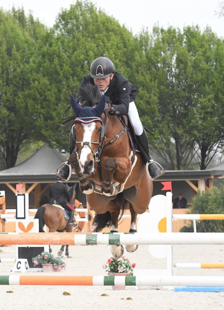 GEORGE ALEXANDER en mars 2019, Etrea Horse Show, Busto Arsizio (Stefano Sacchi Team)